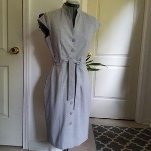 Calvin Klein belted vintage shirt dress